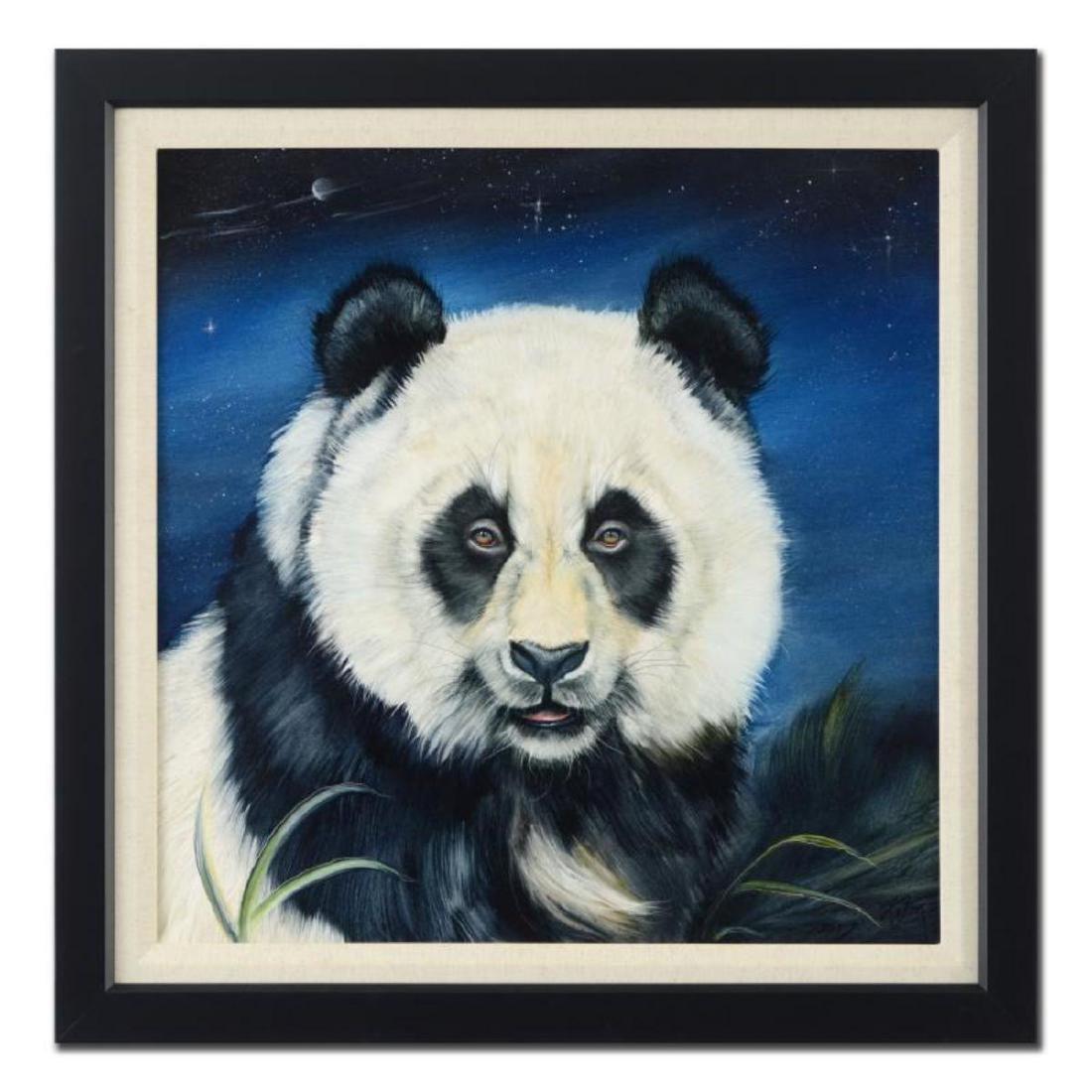 "Martin Katon - ""Panda Night"" Framed Original Oil"