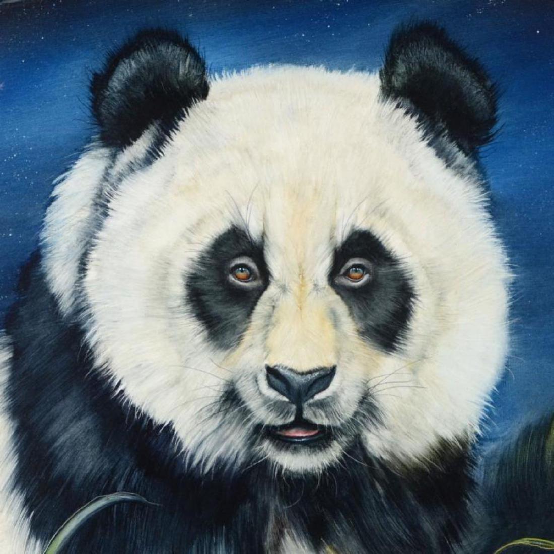 "Martin Katon - ""Panda Night"" Framed Original Oil - 2"