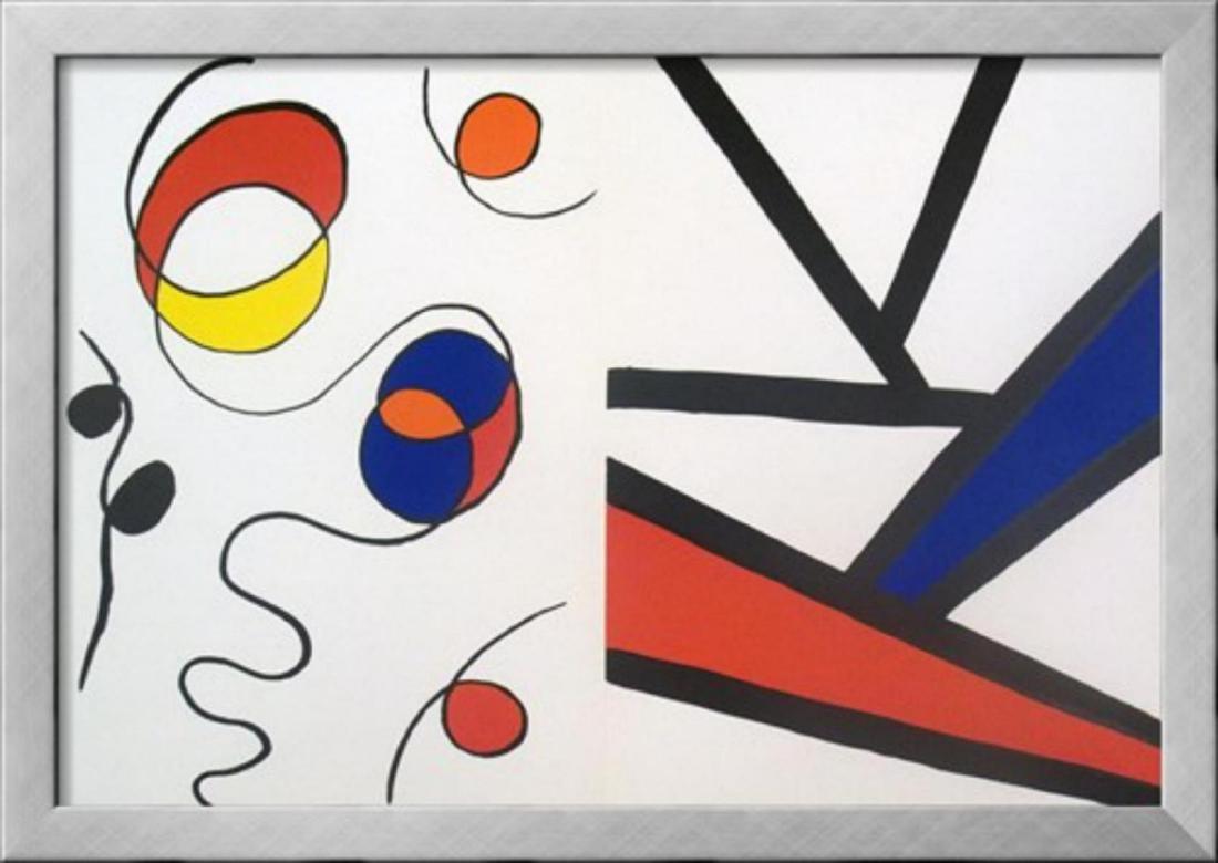 """Alexander Calder """"Derriere le Miroir no.173 page"""""""