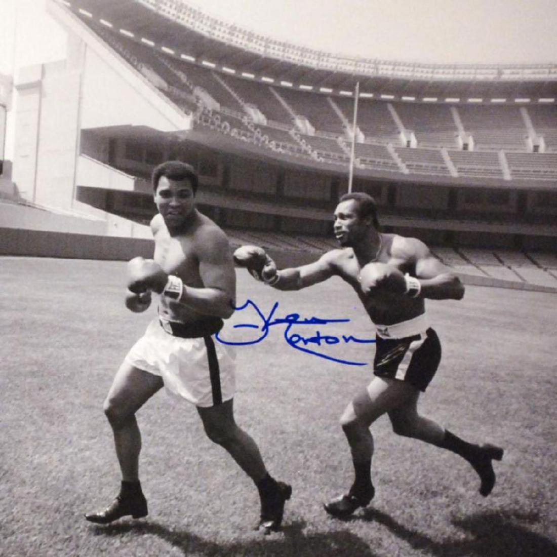 """Must-Have Signed Sports Photo! """"Ken Norton and Ali, - 2"""