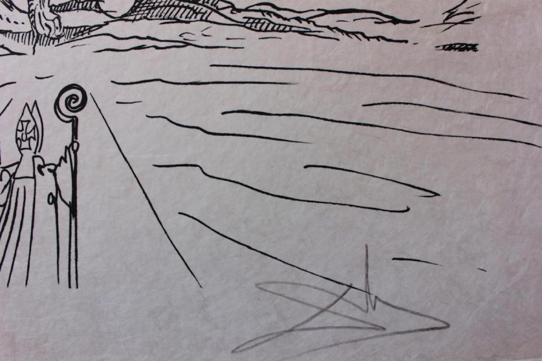 """Salvador Dali Original Lithograph """"Les Songes - 3"""