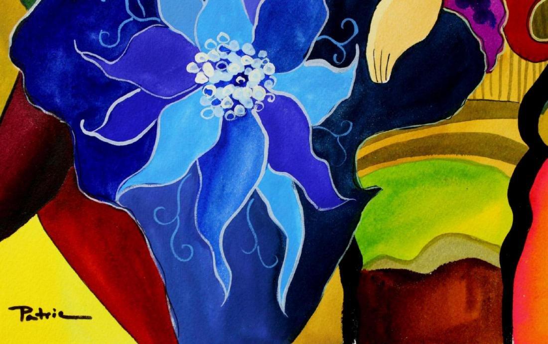 Patricia Govezensky Original Dual Watercolors with - 3
