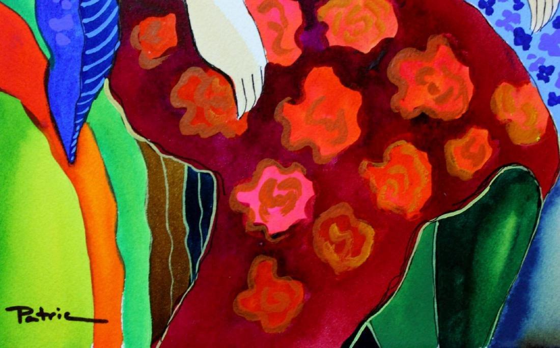 Patricia Govezensky Original Dual Watercolors with - 4