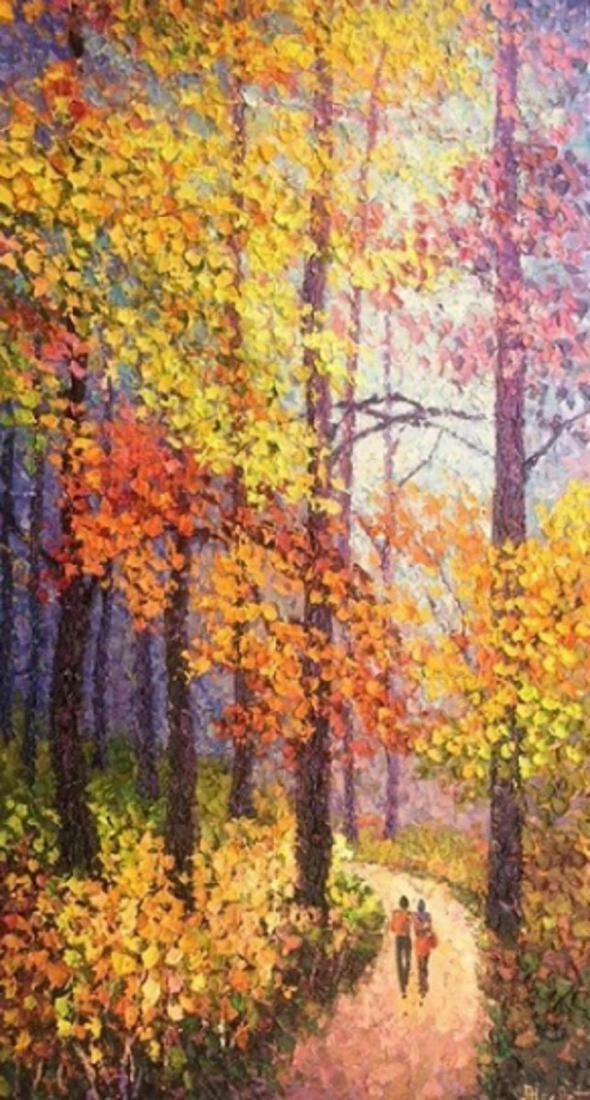 """Alexander Antanenka- """"Autumn Come Softly"""" Original"""