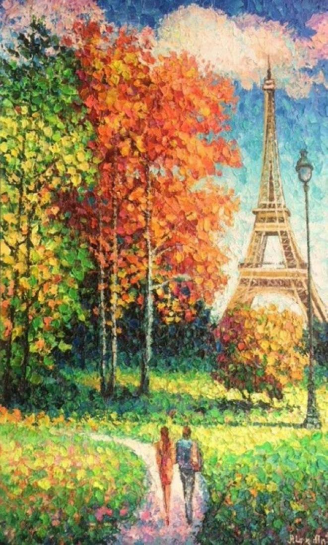 "Alexander Antanenka- ""Beautiful Day in Paris"" Original"