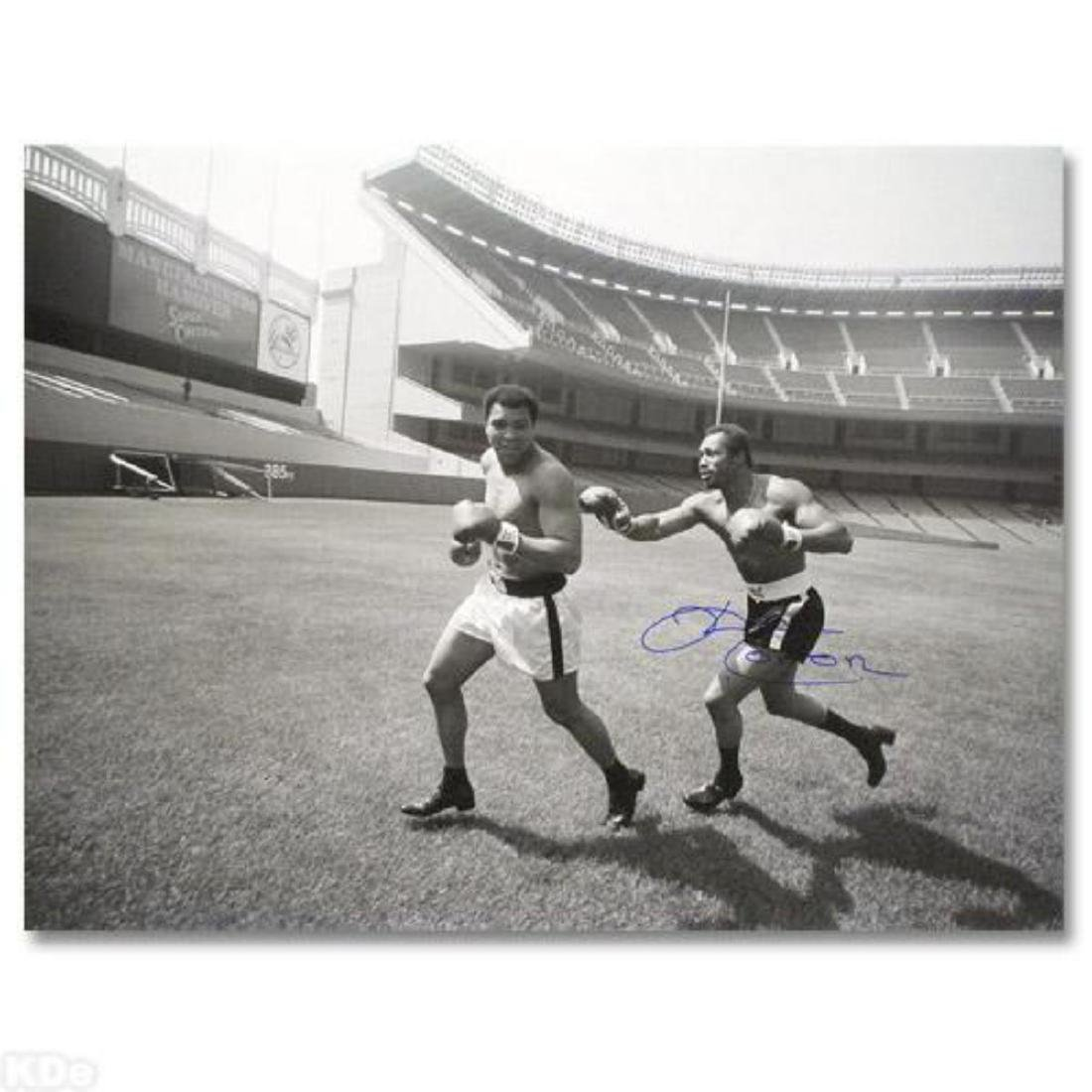"Must-Have Signed Sports Photo! ""Ken Norton and Ali,"