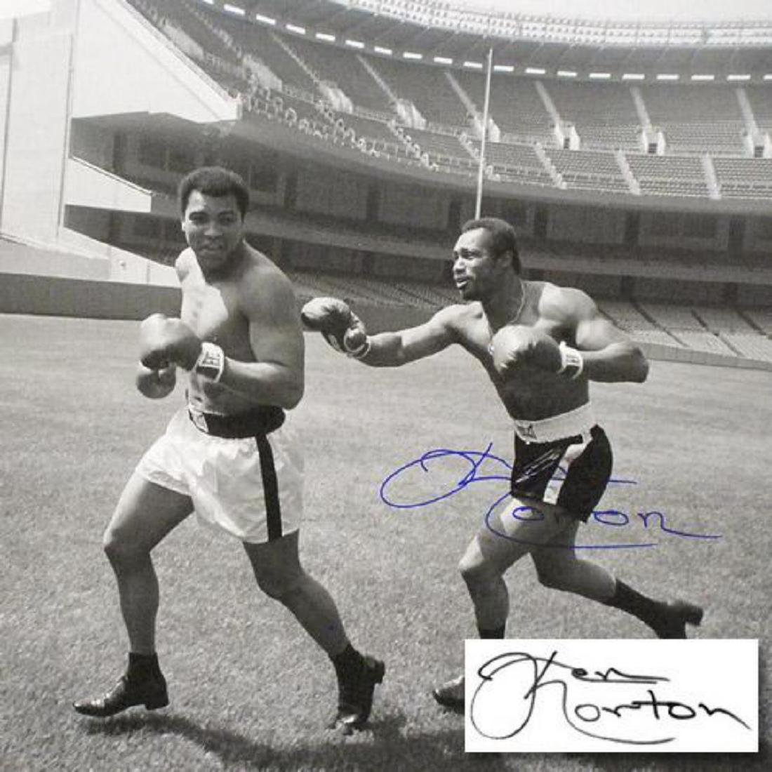 "Must-Have Signed Sports Photo! ""Ken Norton and Ali, - 2"