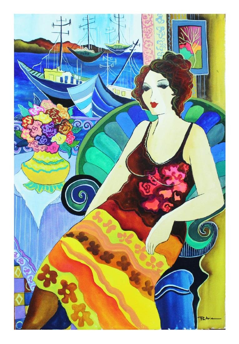 "Patricia Govezensky- Original Watercolor ""Last Forever"""