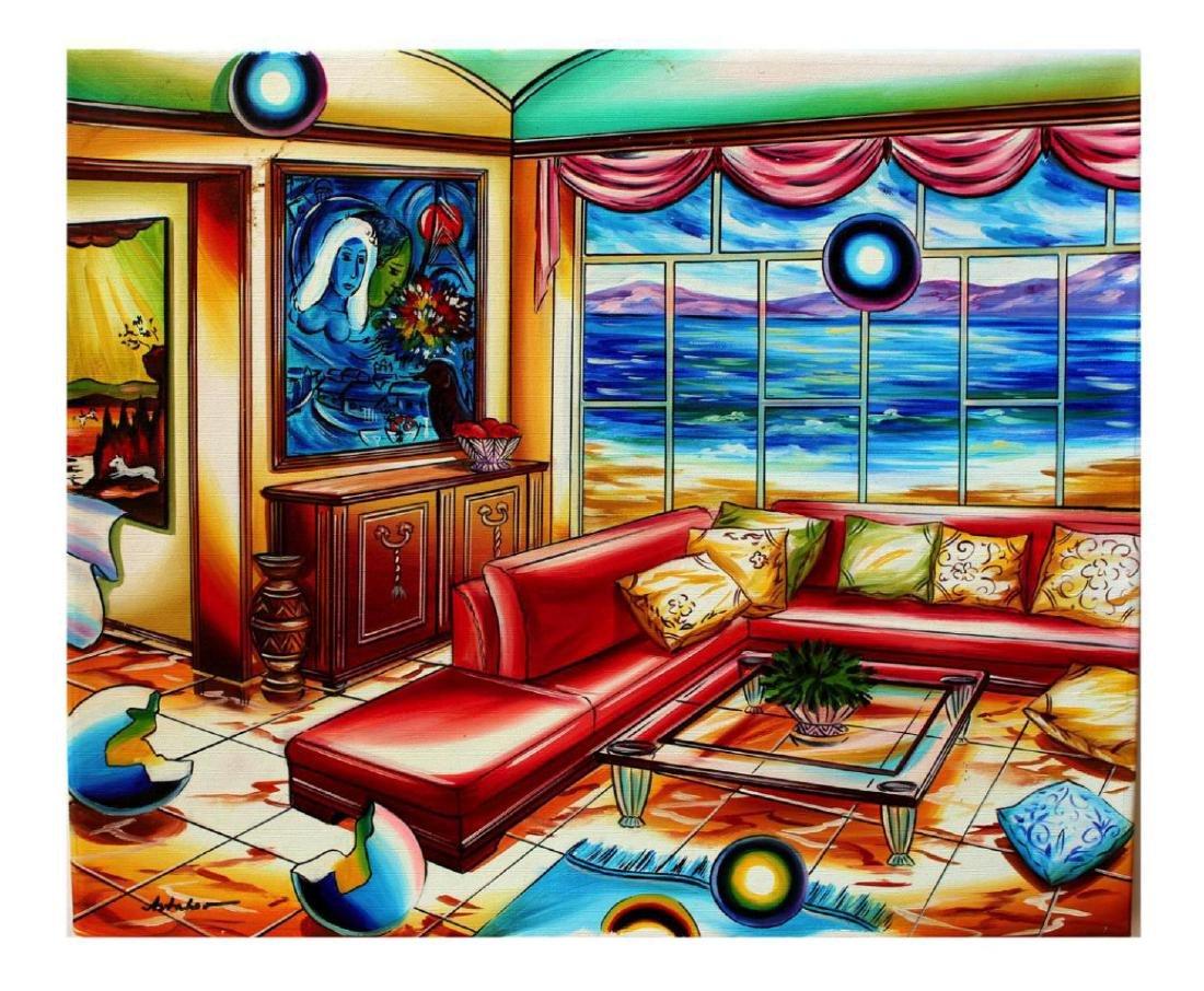 "Alexander Astahov ""Feelings"" Original Oil on Canvas"