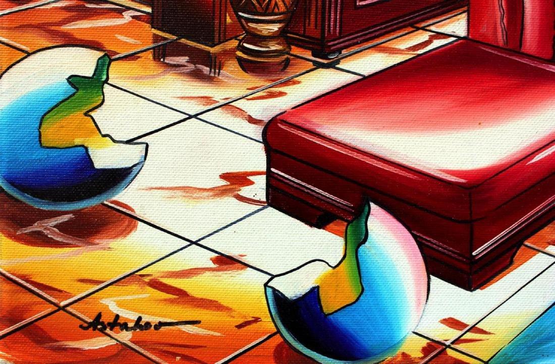 "Alexander Astahov ""Feelings"" Original Oil on Canvas - 2"