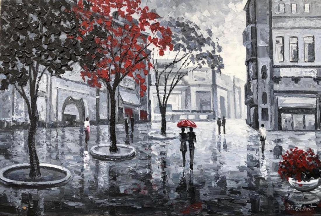 "Alexander Antanenka- ""Quiet Moments"" Original Acrylic"