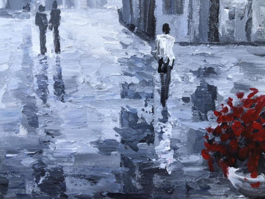 "Alexander Antanenka- ""Quiet Moments"" Original Acrylic - 2"