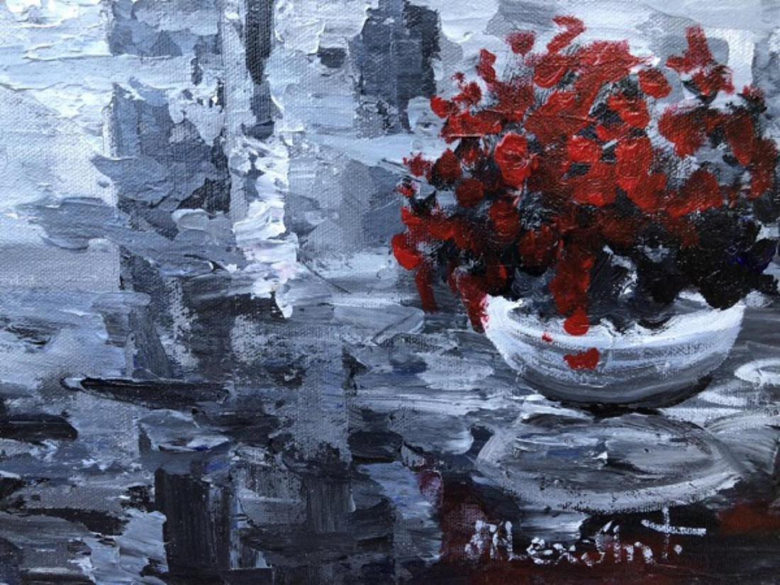 "Alexander Antanenka- ""Quiet Moments"" Original Acrylic - 3"