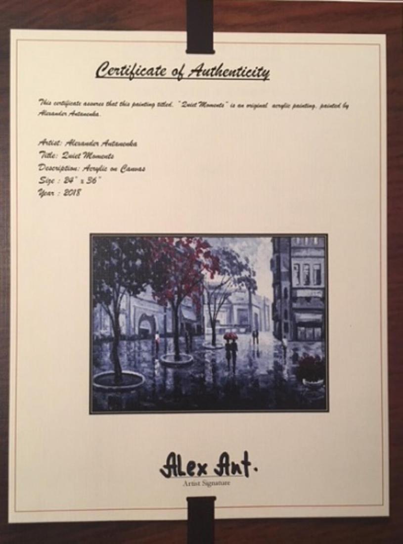 "Alexander Antanenka- ""Quiet Moments"" Original Acrylic - 5"