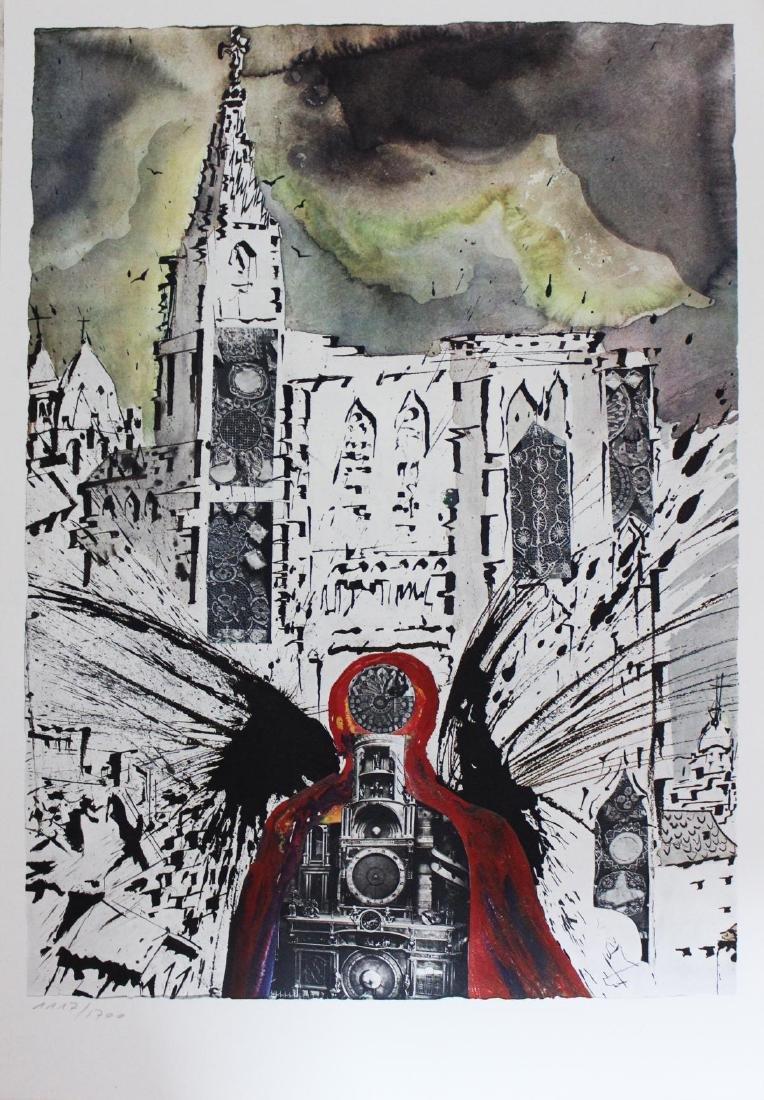 """Salvador Dali- lithography """"Alsace"""""""