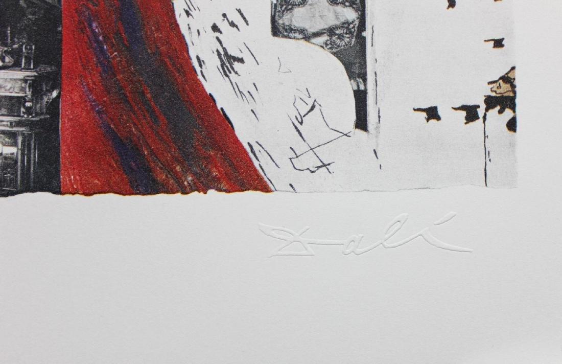 """Salvador Dali- lithography """"Alsace"""" - 2"""