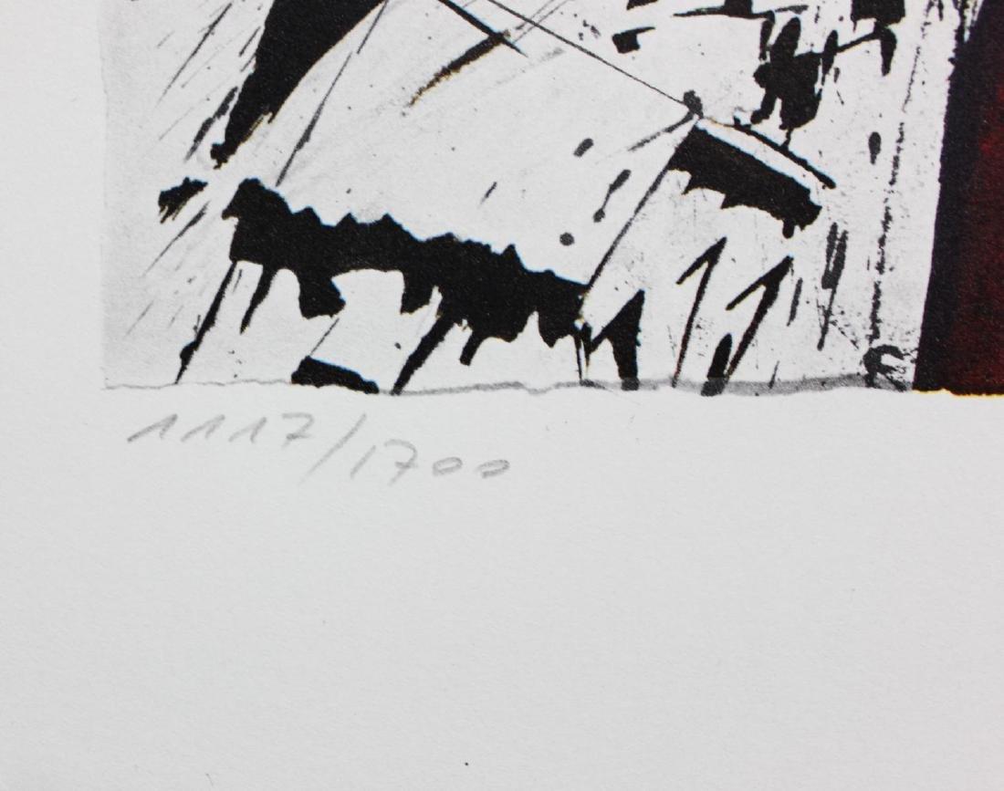 """Salvador Dali- lithography """"Alsace"""" - 3"""