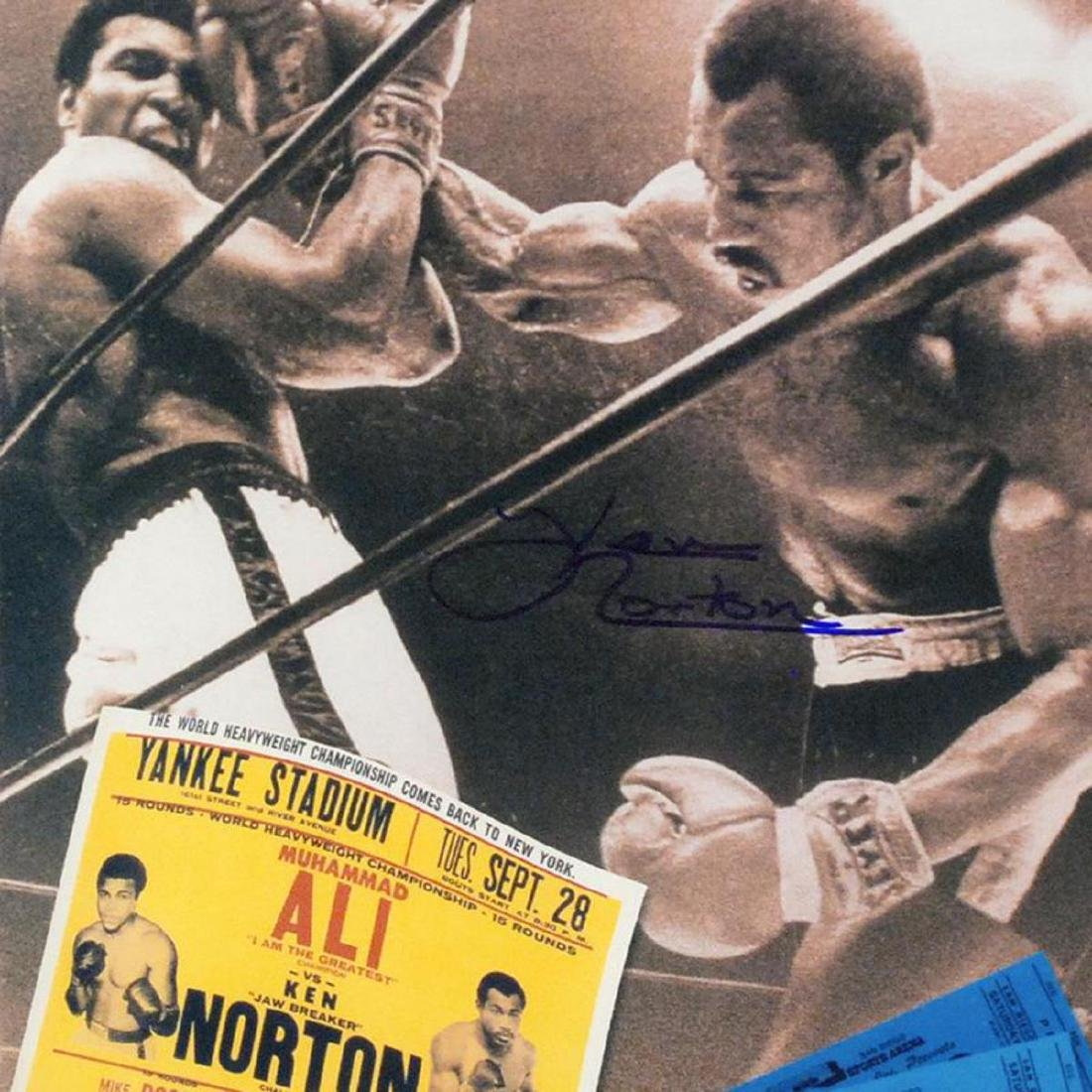"Must-Have Signed Sports Photo Collage! ""Ken Norton and - 2"