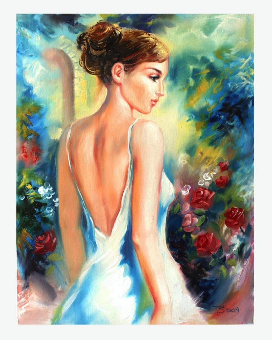 Taras Sidan Original Oil On Canvas- DREAMING