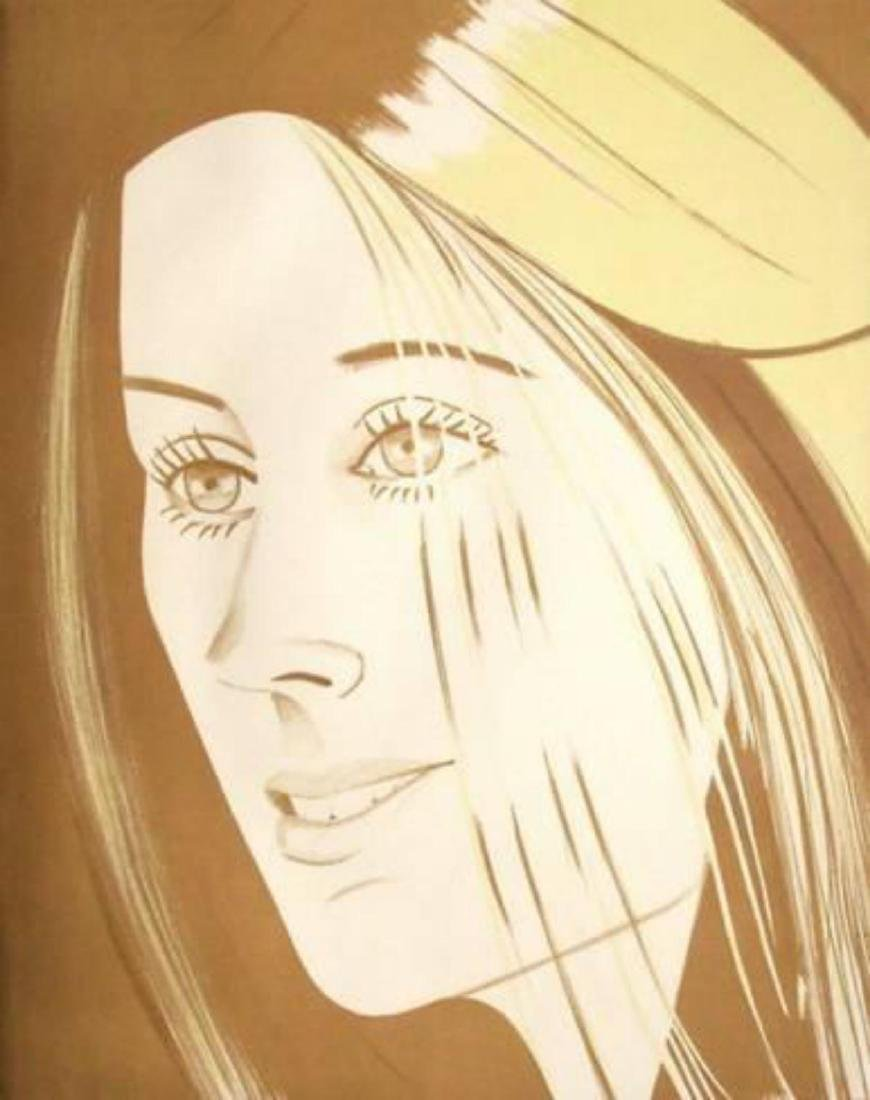 "Alex Katz ""Caroline"" Lithograph Signed by the Artist"