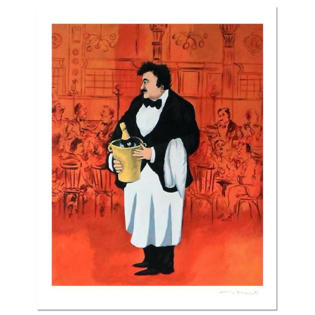 "Guy Buffet - ""Grand Cafe"" Limited Edition Serigraph;"