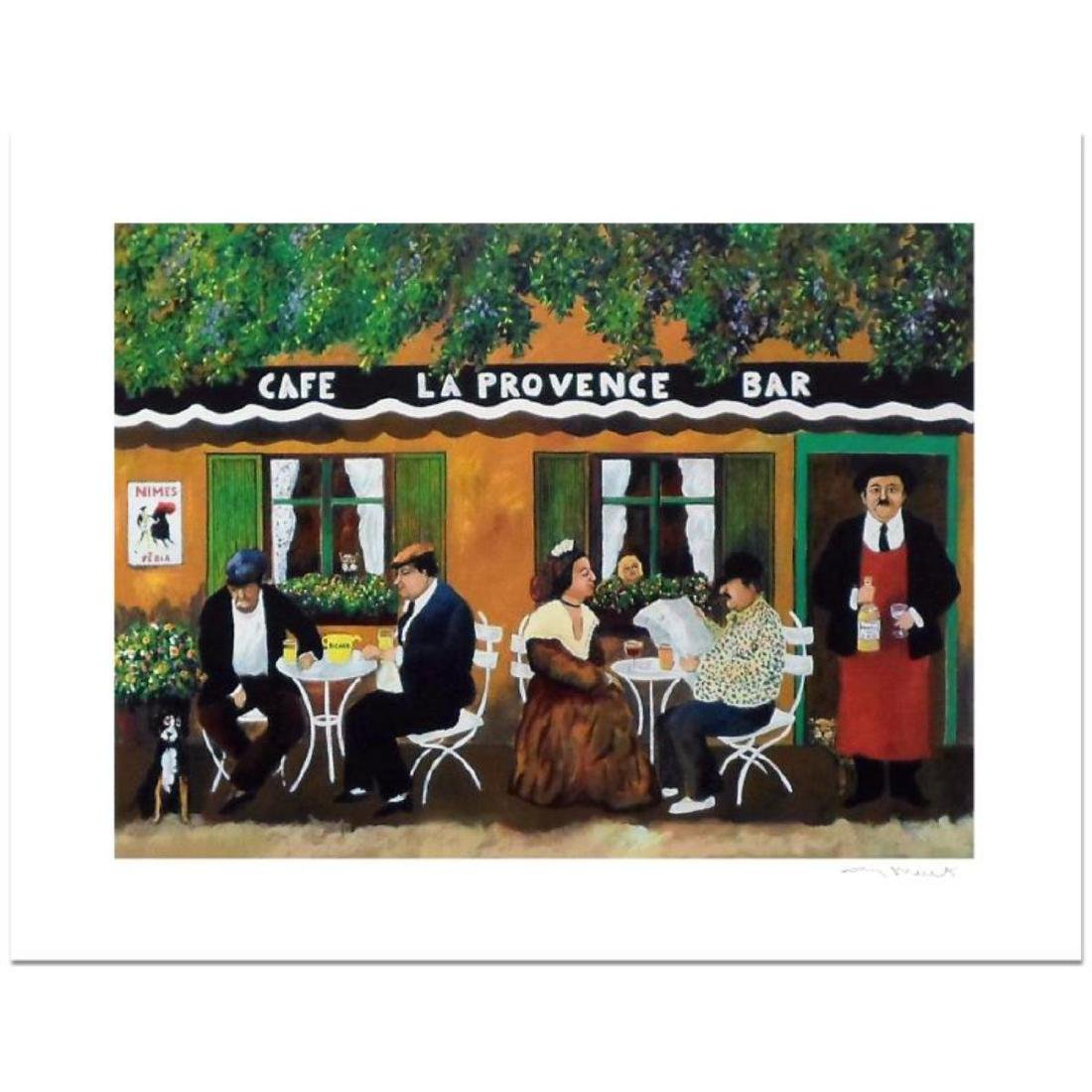 "Guy Buffet - ""Cafe La Provence"" Limited Edition"