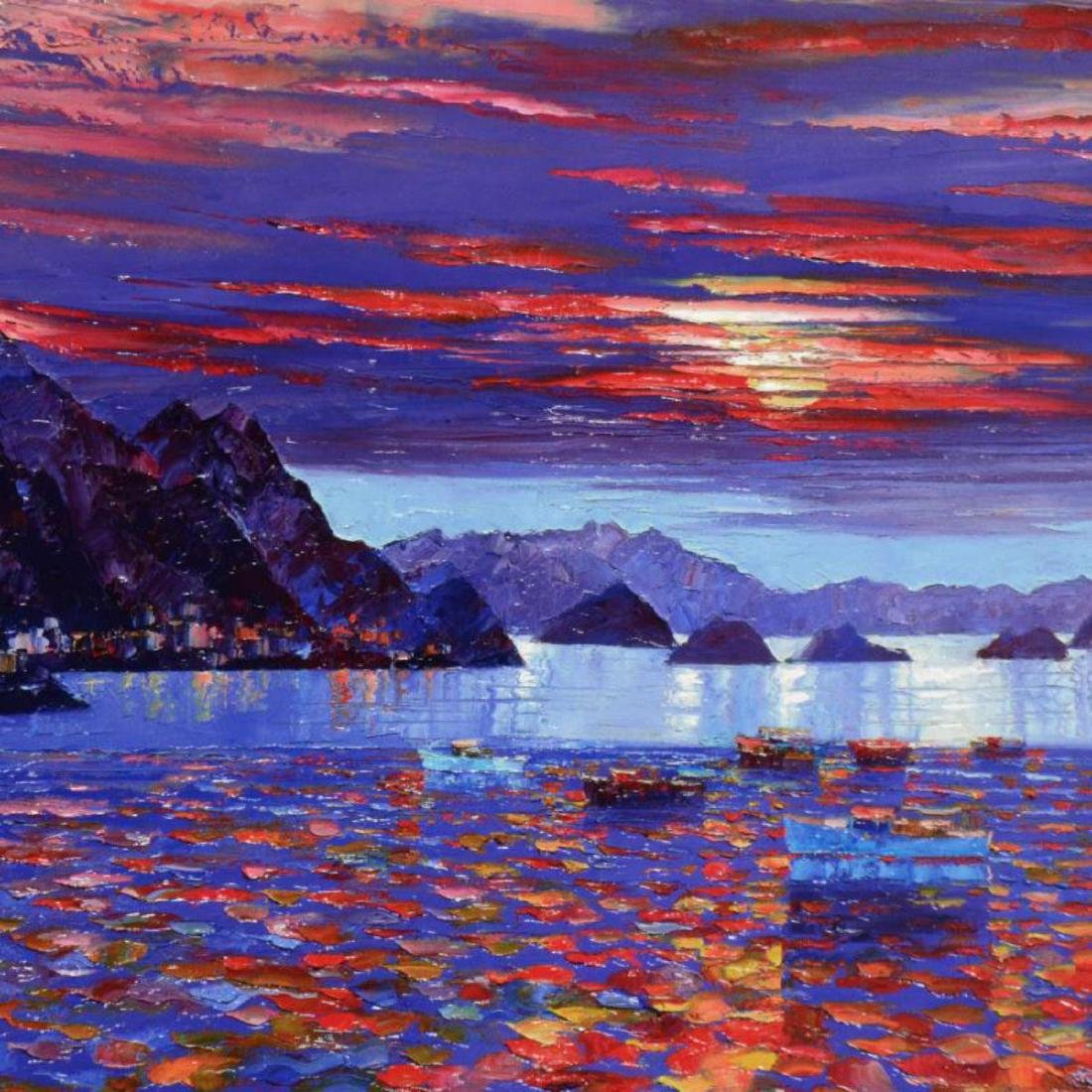 "Howard Behrens (1933-2014) - ""Amalfi Sunset"" Hand - 2"
