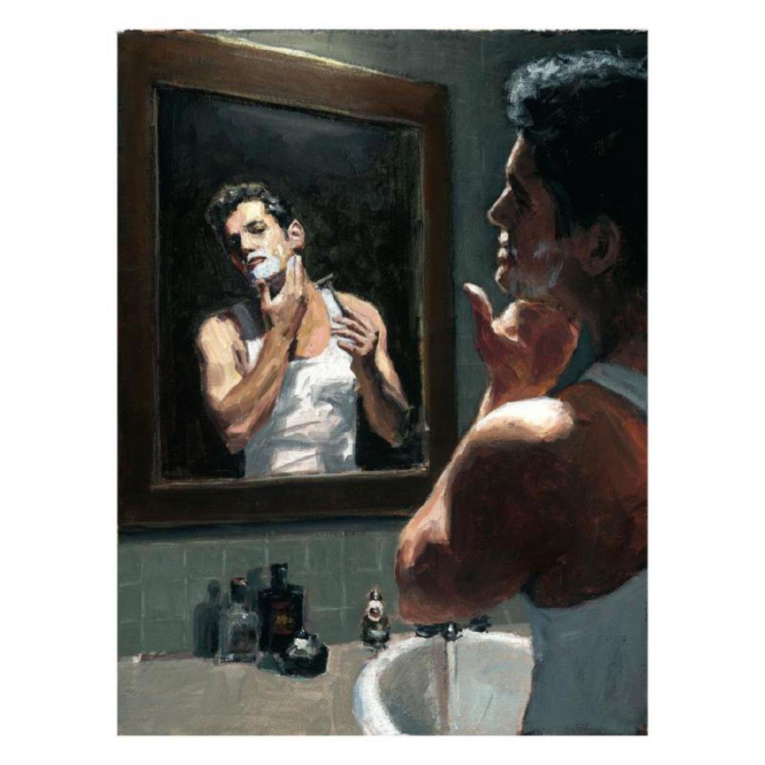 "Fabian Perez ""Proud To Be a Man XI"" Hand Embellished"