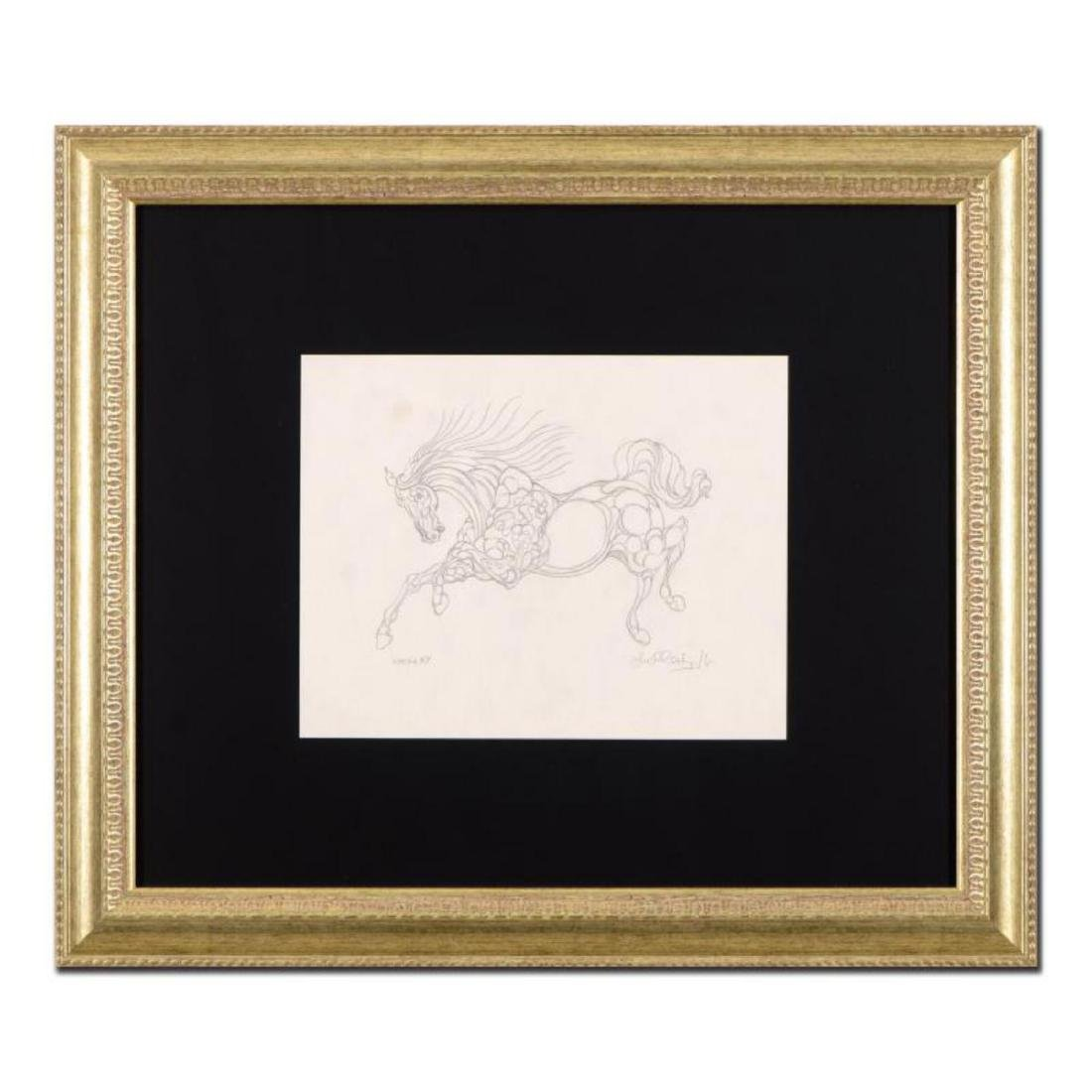 """Guillaume Azoulay - """"BY Sketch"""" Framed Original"""