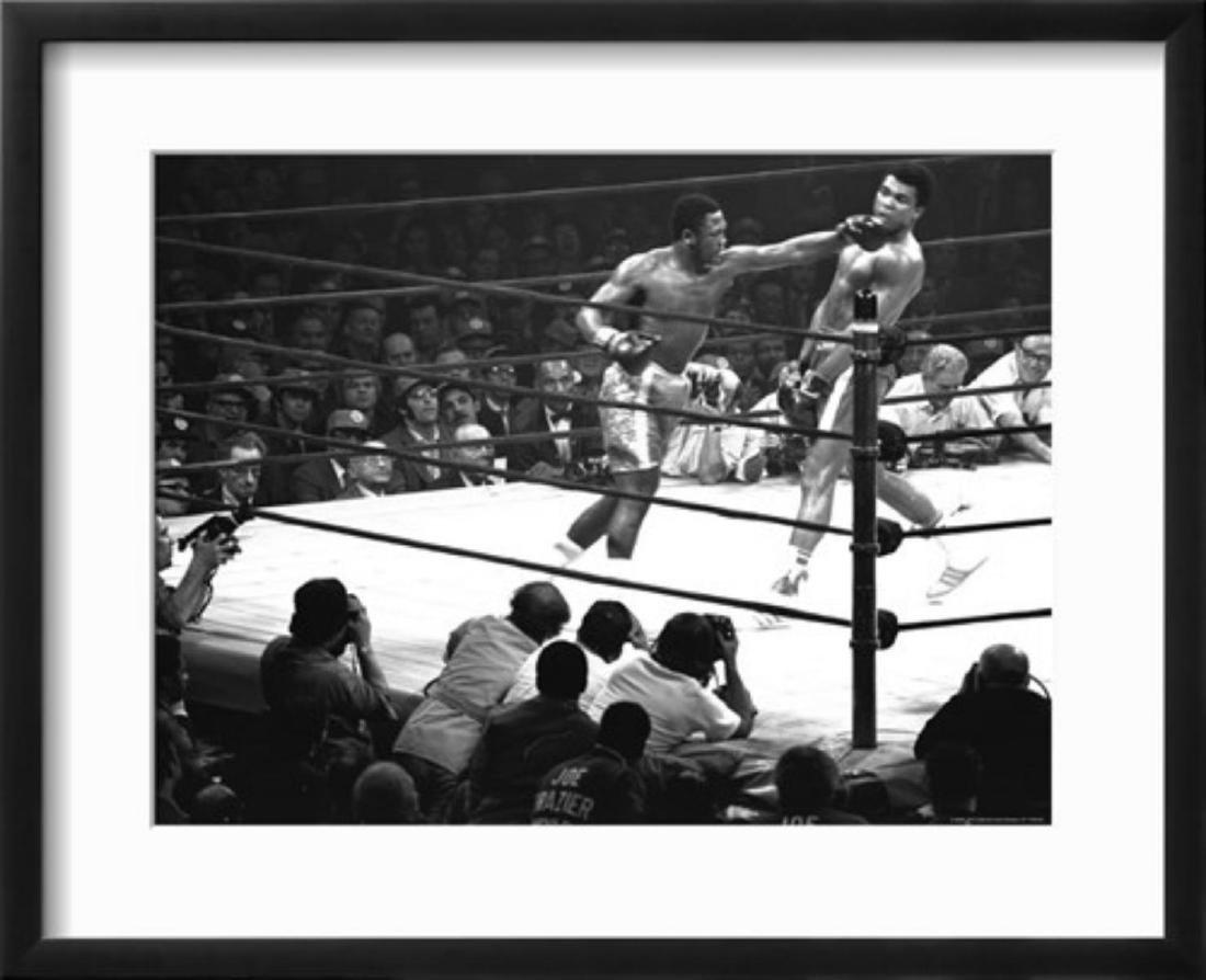 """John Shearer """"Joe Frazier Vs. Mohammed Ali at Madison"""