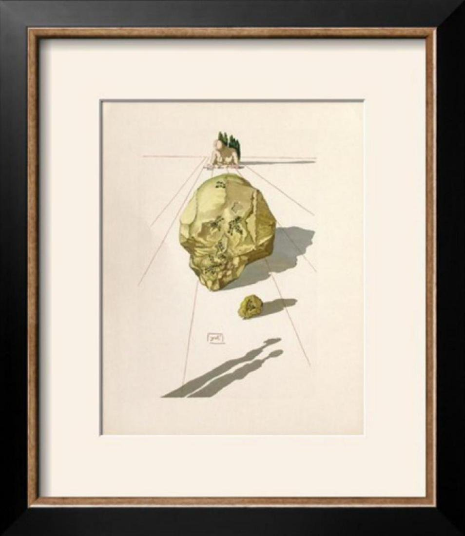 "Salvador Dali ""Divine Comedie, Enfer 23: Le SuppIIce"