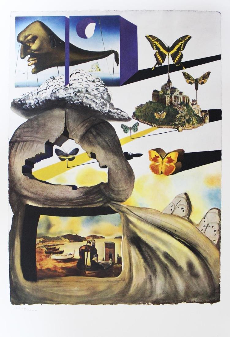 "Salvador Dali- lithography ""Normandie"""
