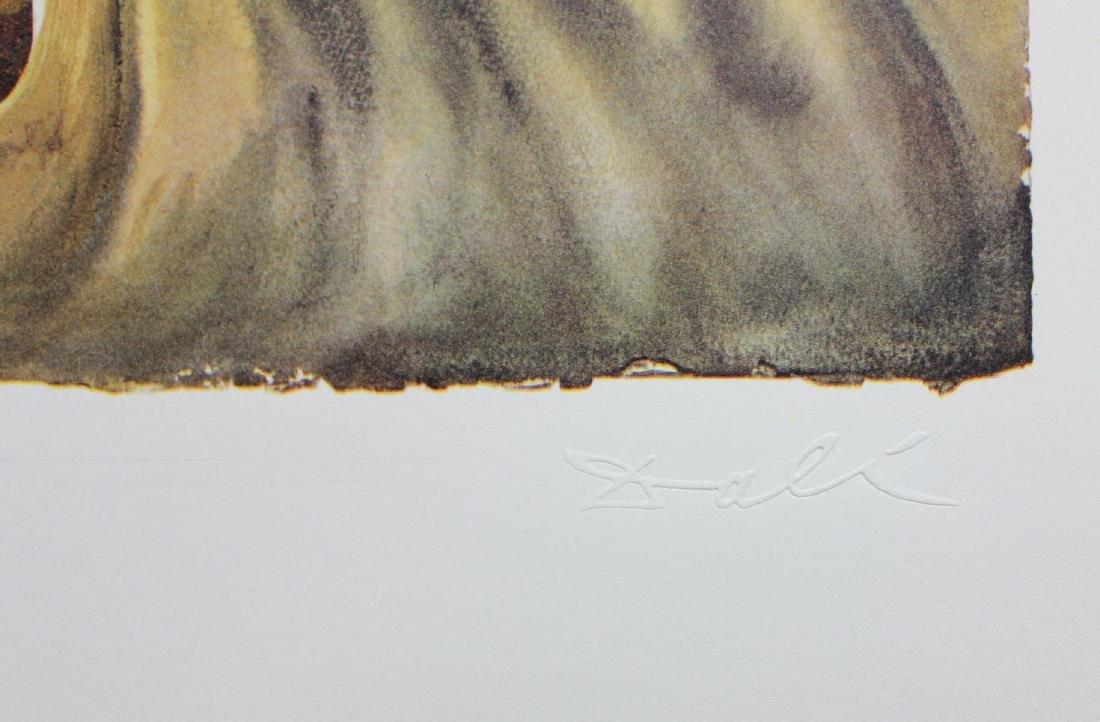 "Salvador Dali- lithography ""Normandie"" - 2"