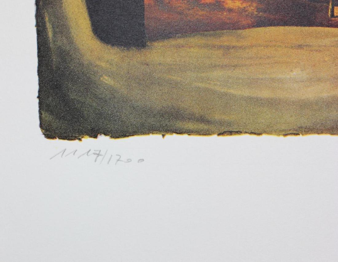 "Salvador Dali- lithography ""Normandie"" - 3"