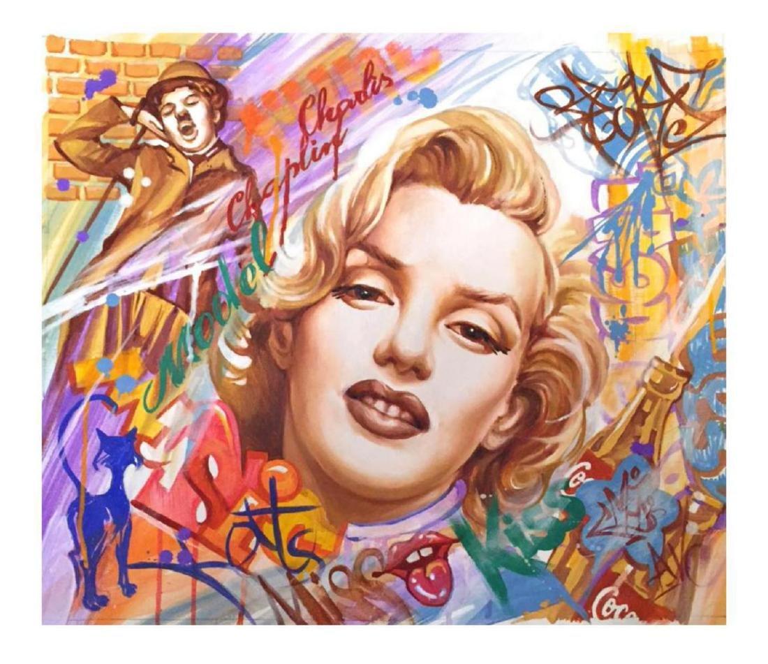 "Nastya Rovenskaya- Original Oil on Canvas ""Blonde"""