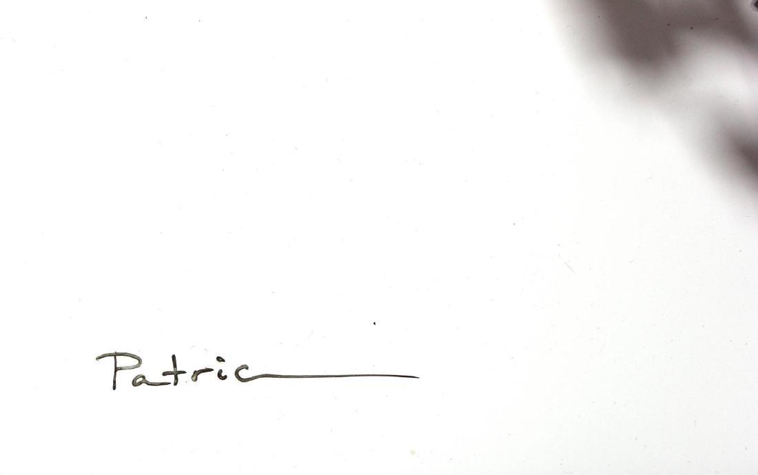 "Patricia Govezensky- Original 3D Metal Art ""Heart"" - 4"