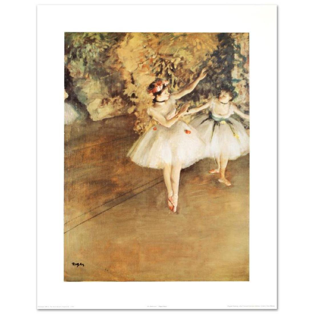 """Two Ballerinas"" Fine Art Print by Degas (1834-1917),"