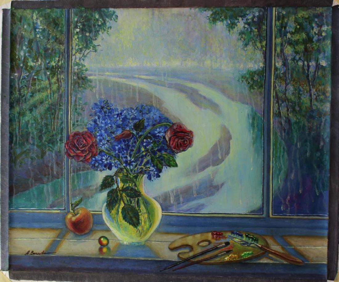 Alexander Borewko Original Oil Painting Artist Point of