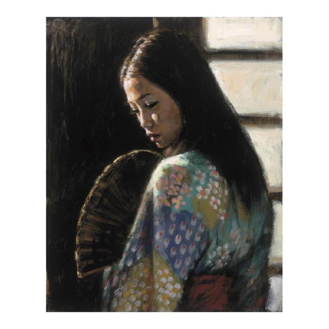 "Fabian Perez ""Study For Japanese Girl II"" Hand"