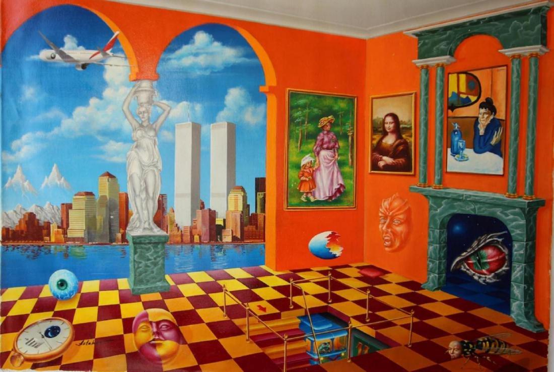 "Alexander Astahov ""New York View"" HS/N"