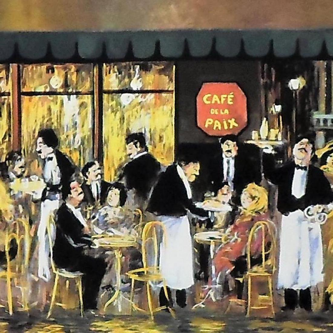 "Guy Buffet - ""Cafe de la Paix"" Limited Edition - 2"