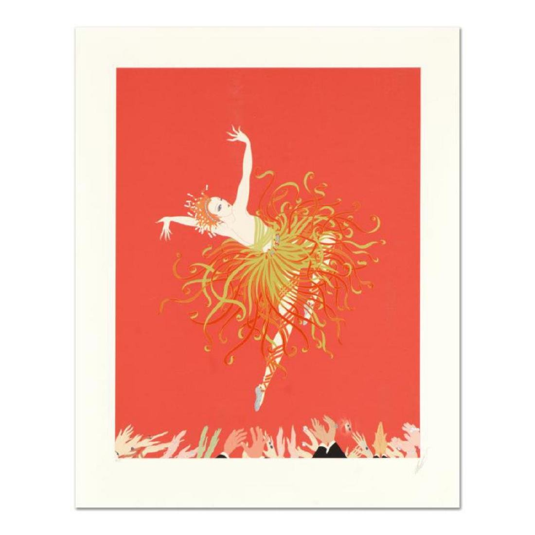 "Erte (1892-1990), ""Applause"" Limited Edition Serigraph,"