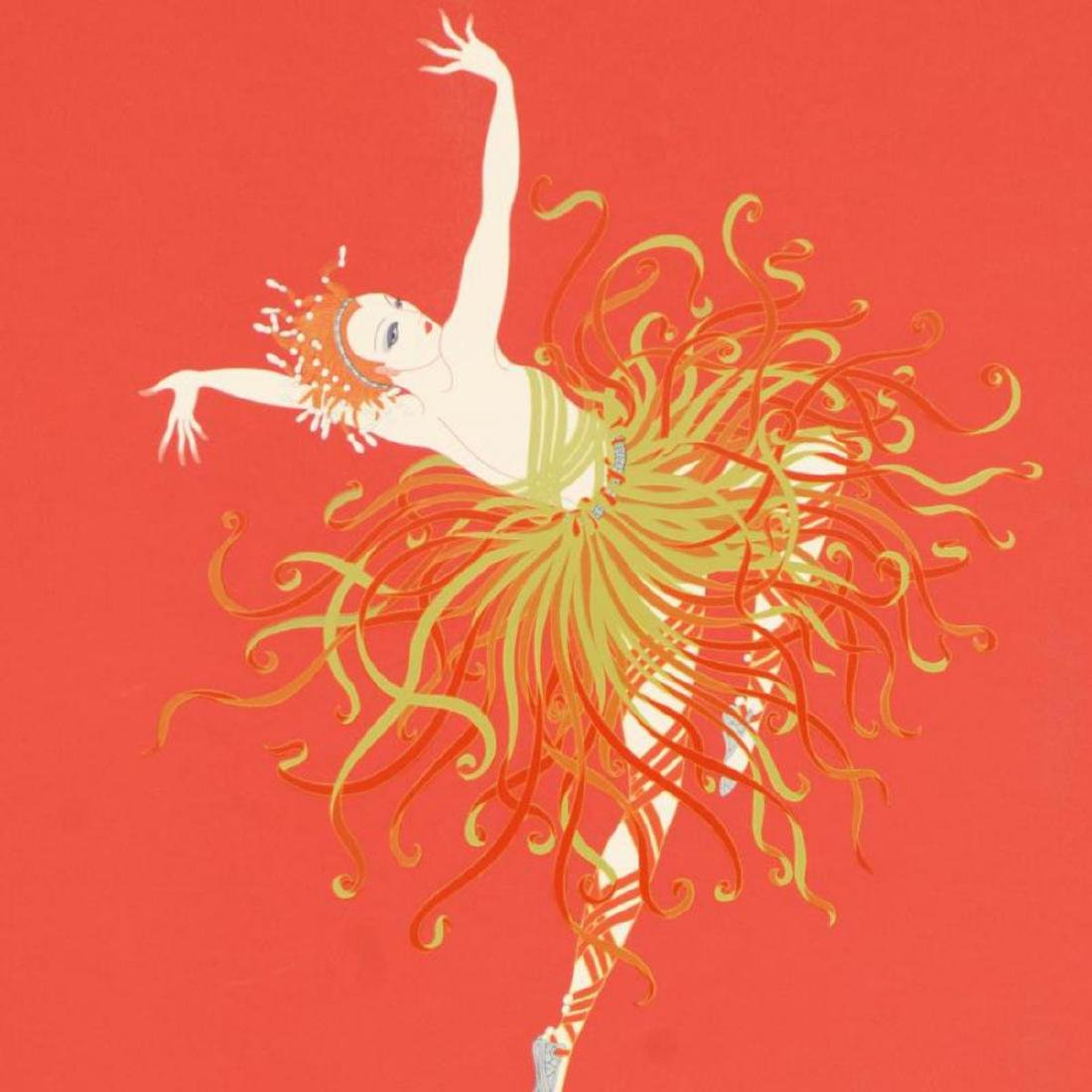 "Erte (1892-1990), ""Applause"" Limited Edition Serigraph, - 2"