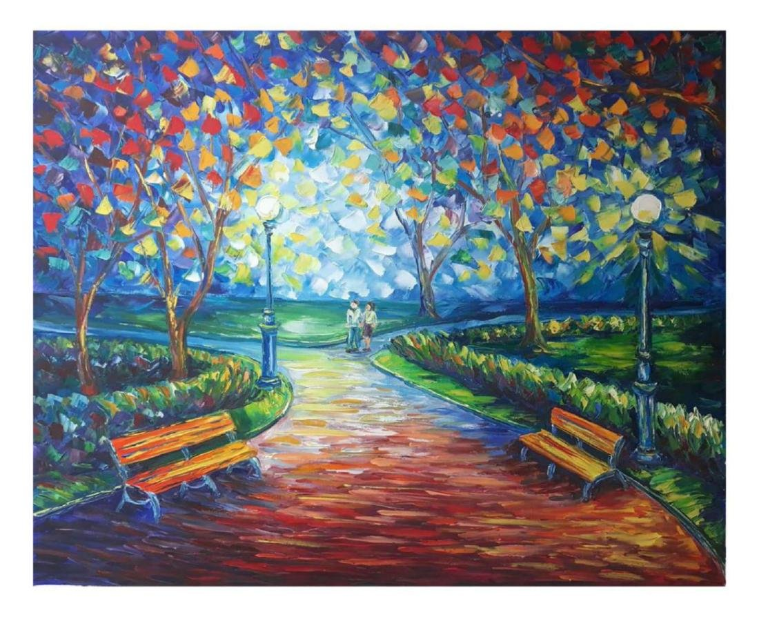 "Svyatoslav Shyrochuk- Original Oil on Canvas ""Amor"""