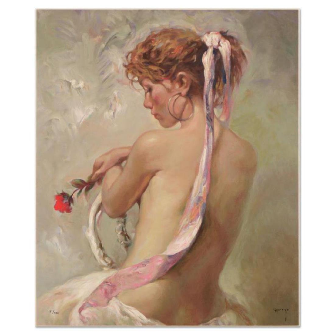 "Royo - ""Rosa Y Nacar"" Limited Edition Serigraph on"