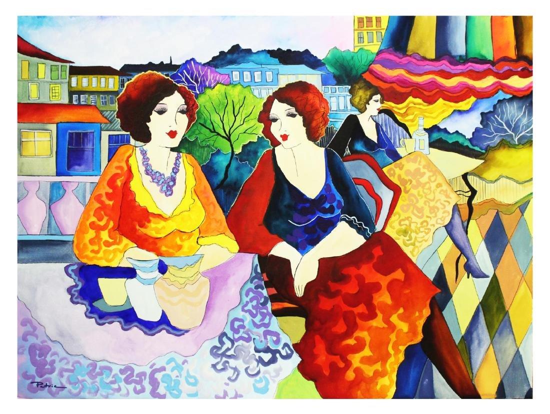 "Patricia Govezensky- Original Watercolor ""My Dear"