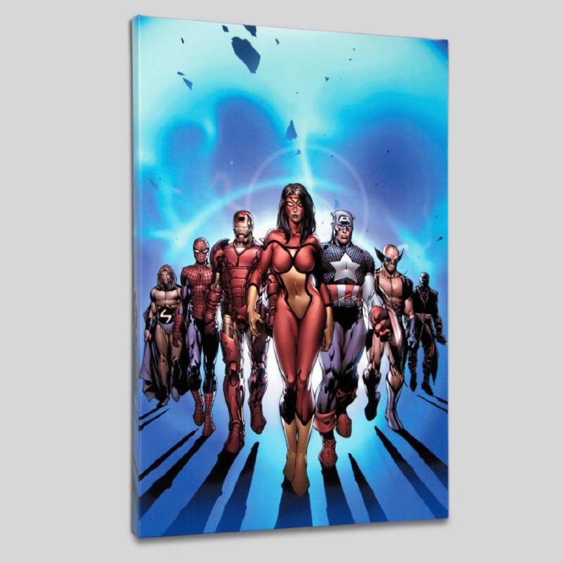 """New Avengers #7"" LIMITED EDITION Giclee on Canvas by - 3"