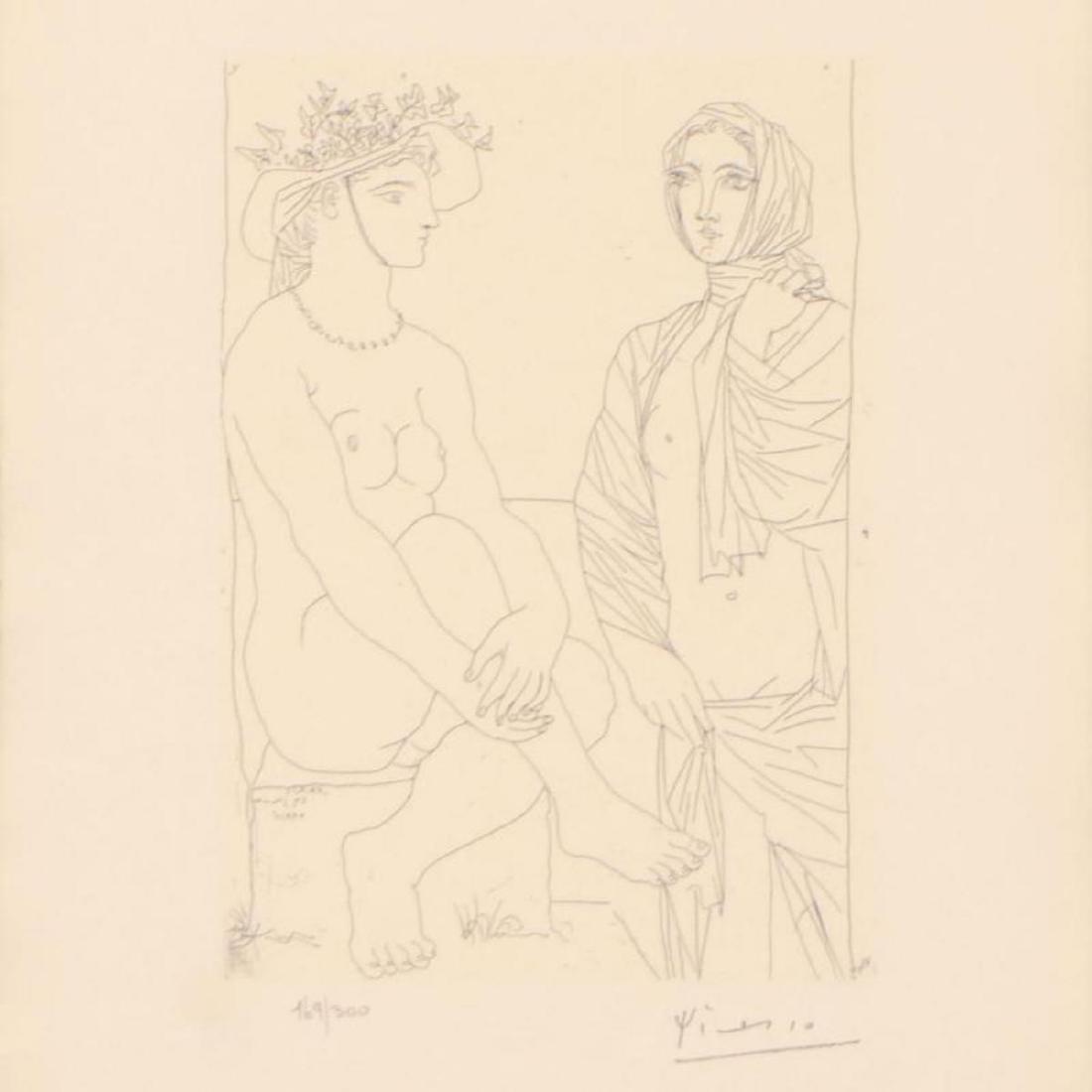 """Picasso (1881-1973) - """"Femme Assise au Chapeau (Bloch - 2"""