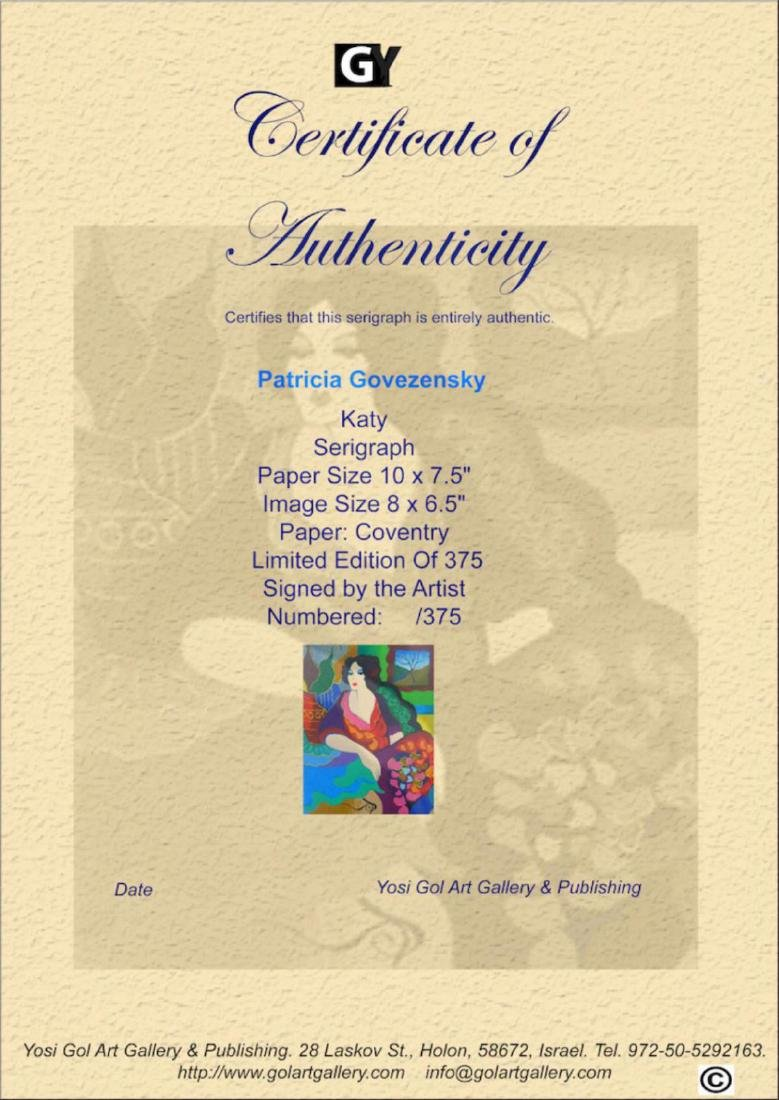 "Patricia Govezensky ""Katy"" Hand signed & numbered - 3"