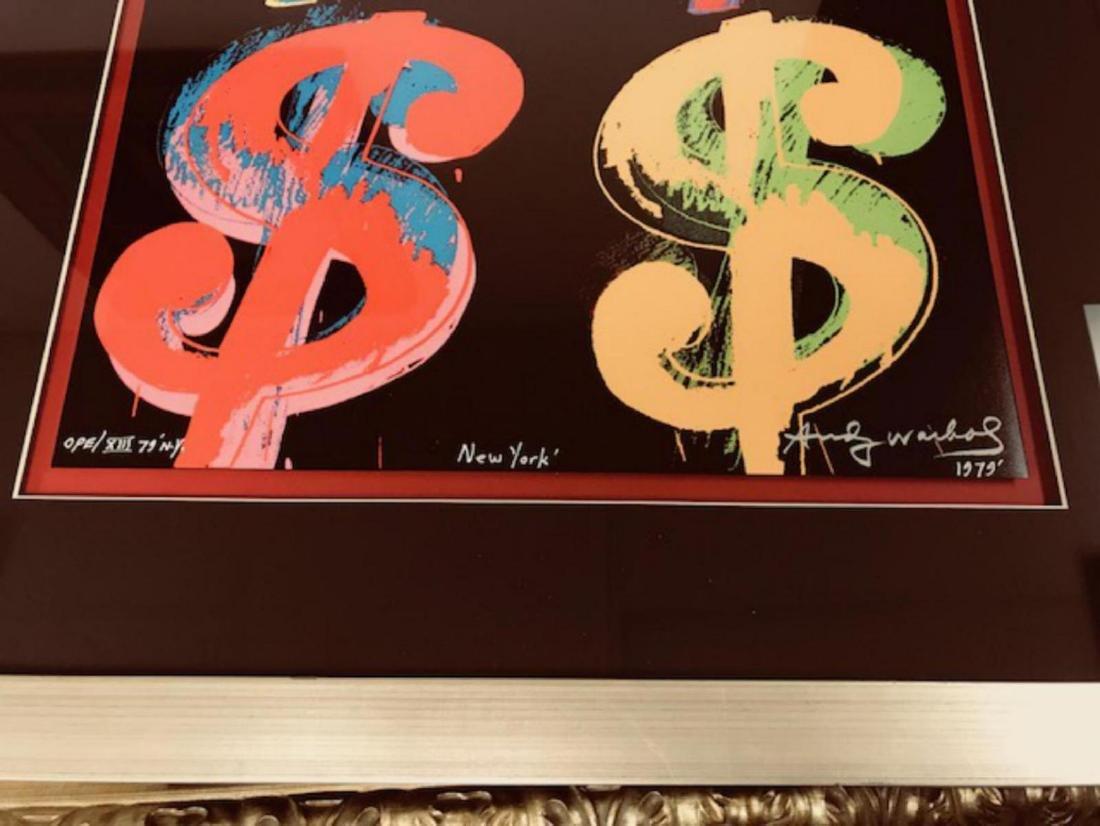 Andy Warhol Custom Framed Print Limited Edition S&N - 2